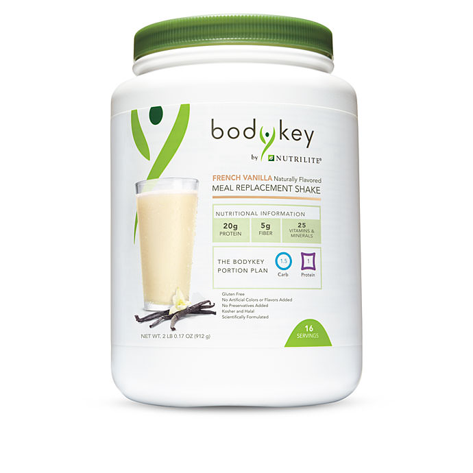 BodyKey by Nutrilite™ Meal Replacement Shake Mix - French Vanilla