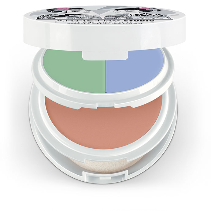 Artistry Studio™ Correct & Perfect Face Compact - Shibuya Light (with Green and Lilac)