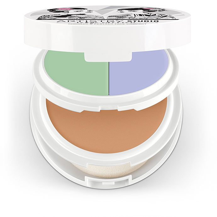 Artistry Studio™ Correct & Perfect Face Compact - Shibuya Light Medium (with Green and Lilac)