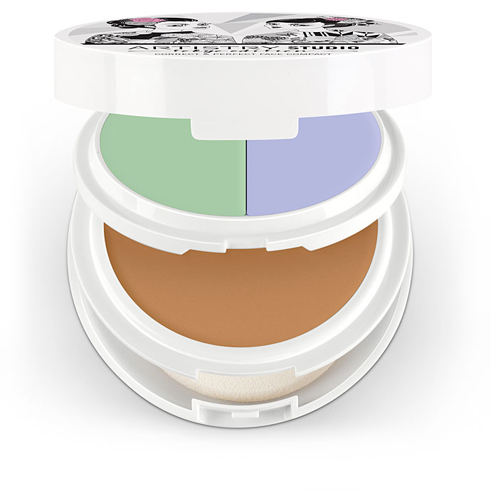 Artistry Studio™ Correct & Perfect Face Compact - Shibuya Medium (with Green and Lilac)