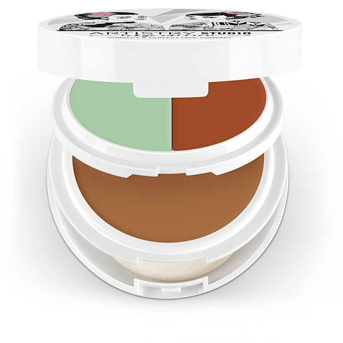 Artistry Studio™ Correct & Perfect Face Compact - Shibuya Medium Deep (with Green and Peach)