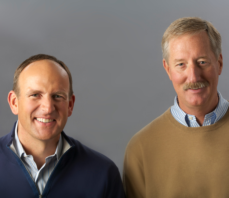 Doug DeVos and Steve Van Andel.
